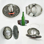 Beer Buckle Holds A Bottle Or Can Hands Free-home&kitchen-hundredfeel-bull-hundredfeel