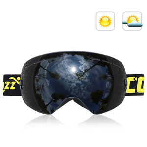 Double-Layer Anti Fog Ski Goggles-Outdoor Recreation-hundredfeel-BLACK-hundredfeel