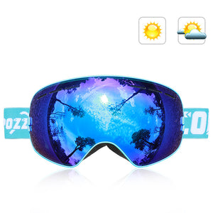 Double-Layer Anti Fog Ski Goggles-Outdoor Recreation-hundredfeel-BLUE-hundredfeel