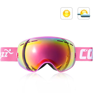 Double-Layer Anti Fog Ski Goggles-Outdoor Recreation-hundredfeel-PINK-hundredfeel