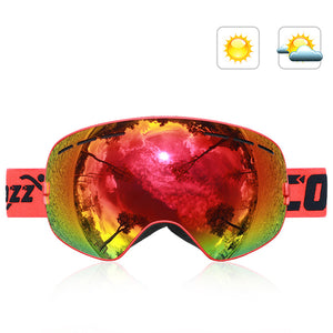 Double-Layer Anti Fog Ski Goggles-Outdoor Recreation-hundredfeel-RED-hundredfeel