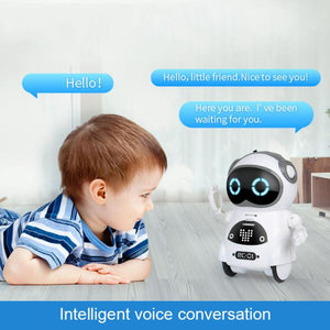 Multifunctional Electric Voice Mini Pocket Robot- Great Gift for Kids-toys-hundredfeel-hundredfeel