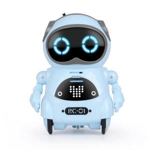 Multifunctional Electric Voice Mini Pocket Robot- Great Gift for Kids-toys-hundredfeel-Blue-hundredfeel