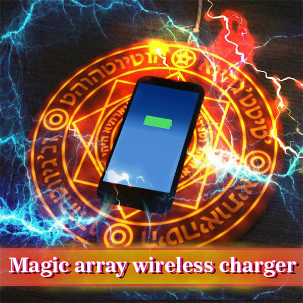 Magic Array Wireless Charger, Ultra Slim 10W Fast Wireless Charger-home&kitchen-hundredfeel-COFFEE( FREE SHIPPING)-hundredfeel