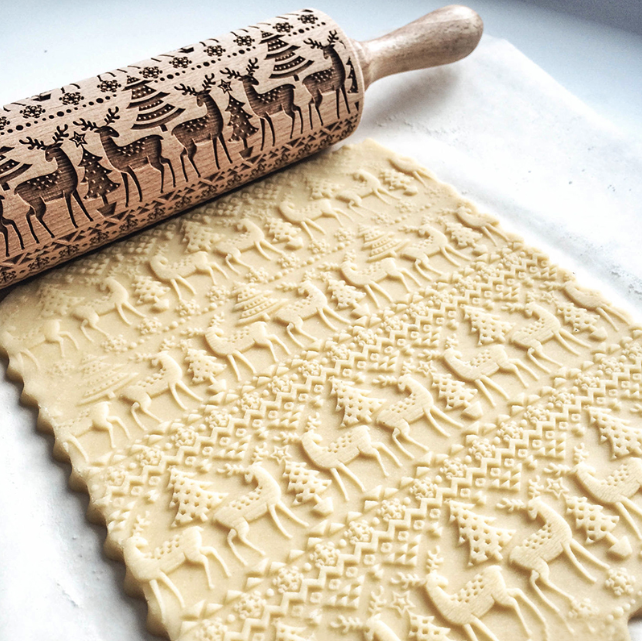 The Magic Christmas Rolling Pin-ACCESSORIES-hundredfeel.com-hundredfeel