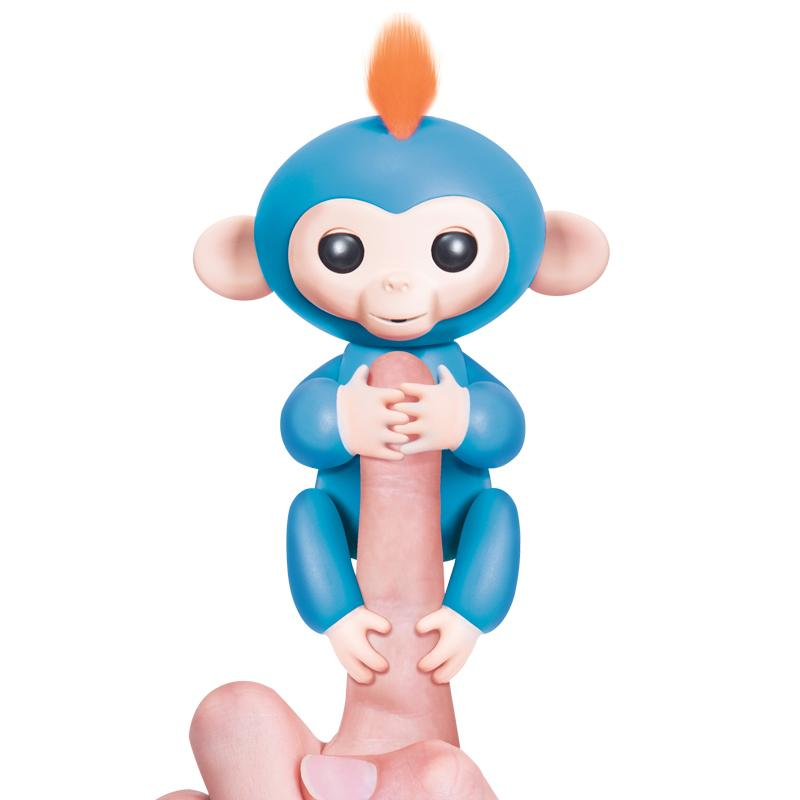 Interactive Finger Toy-Monkey-toys-hundredfeel.com-BLUE-hundredfeel