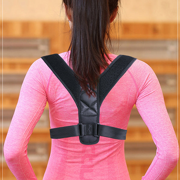 Posture Corrector for Men & Women-beauty-hundredfeel-BLACK(65%OFF)-hundredfeel