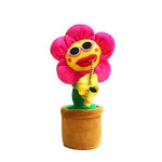 Enchanting Sunflower Plush Funny Creative Electric Toys-toys-hundredfeel.com-hundredfeel