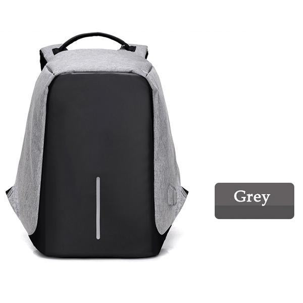 Multifunctional Anti-theft Backpack-ACCESSORIES-hundredfeel.com-Gray Backpack-hundredfeel