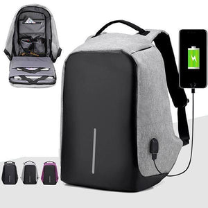 Multifunctional Anti-theft Backpack-ACCESSORIES-hundredfeel.com-Blue Backpack-hundredfeel