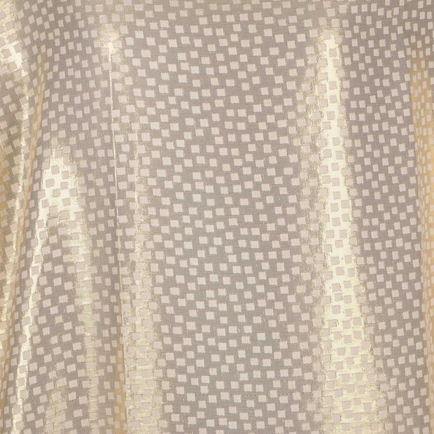 Jacquard Fabric Design # 1008 - Cream - Per Yard