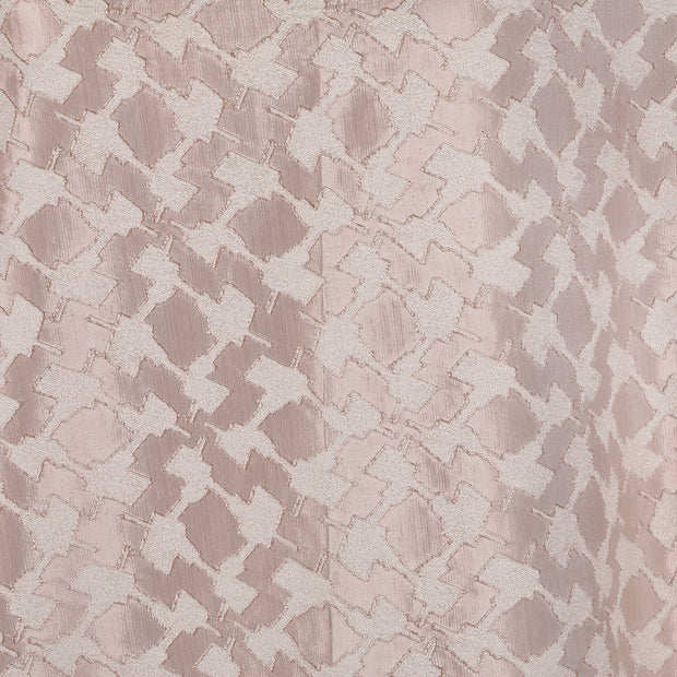 Jacquard Fabric Design # 1009 - Beige  - Per Yard