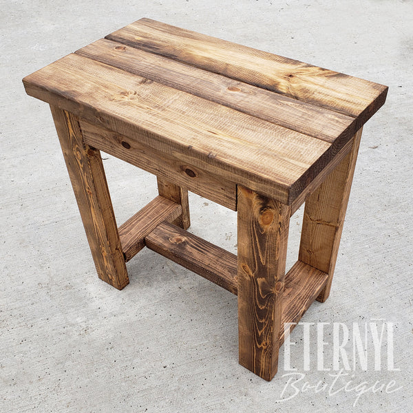 Farm Style Rectangle Accent Table - Eternyl - Brand - Apparel