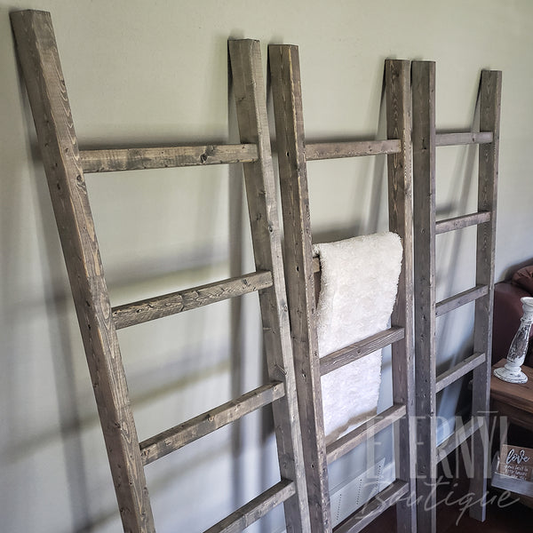 Farm Style Rustic Blanket Ladder - Eternyl - Brand - Apparel