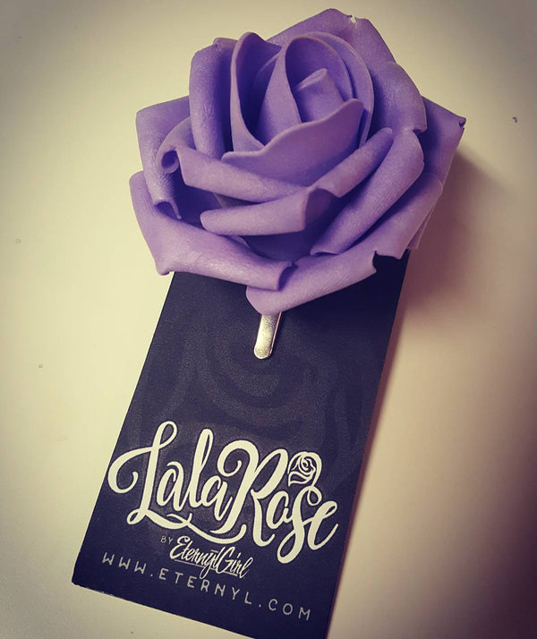 Lala Rose Soft Rose Hair Clip - Eternyl - Brand - Apparel