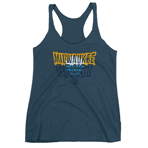 Milwaukee Beast Flag Ed. Racerback Tank - Eternyl - Brand - Apparel