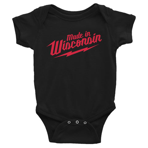 Asylum Made in Wisconsin Onesie