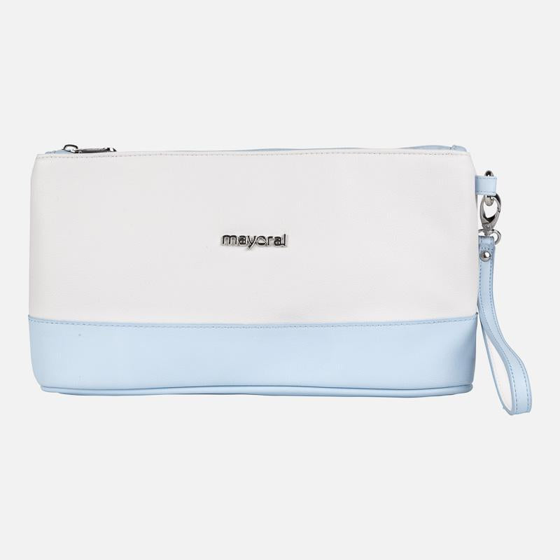 Mayoral Toiletry Bag- Blue And White