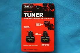 D'Addario Micro Headstock Clip On Tuner for Ukulele (2 Pack)