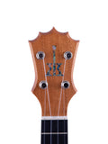 "KoAloha KSM-00 Soprano Ukulele Koa ""Waterfall"" Made in Hawaii"