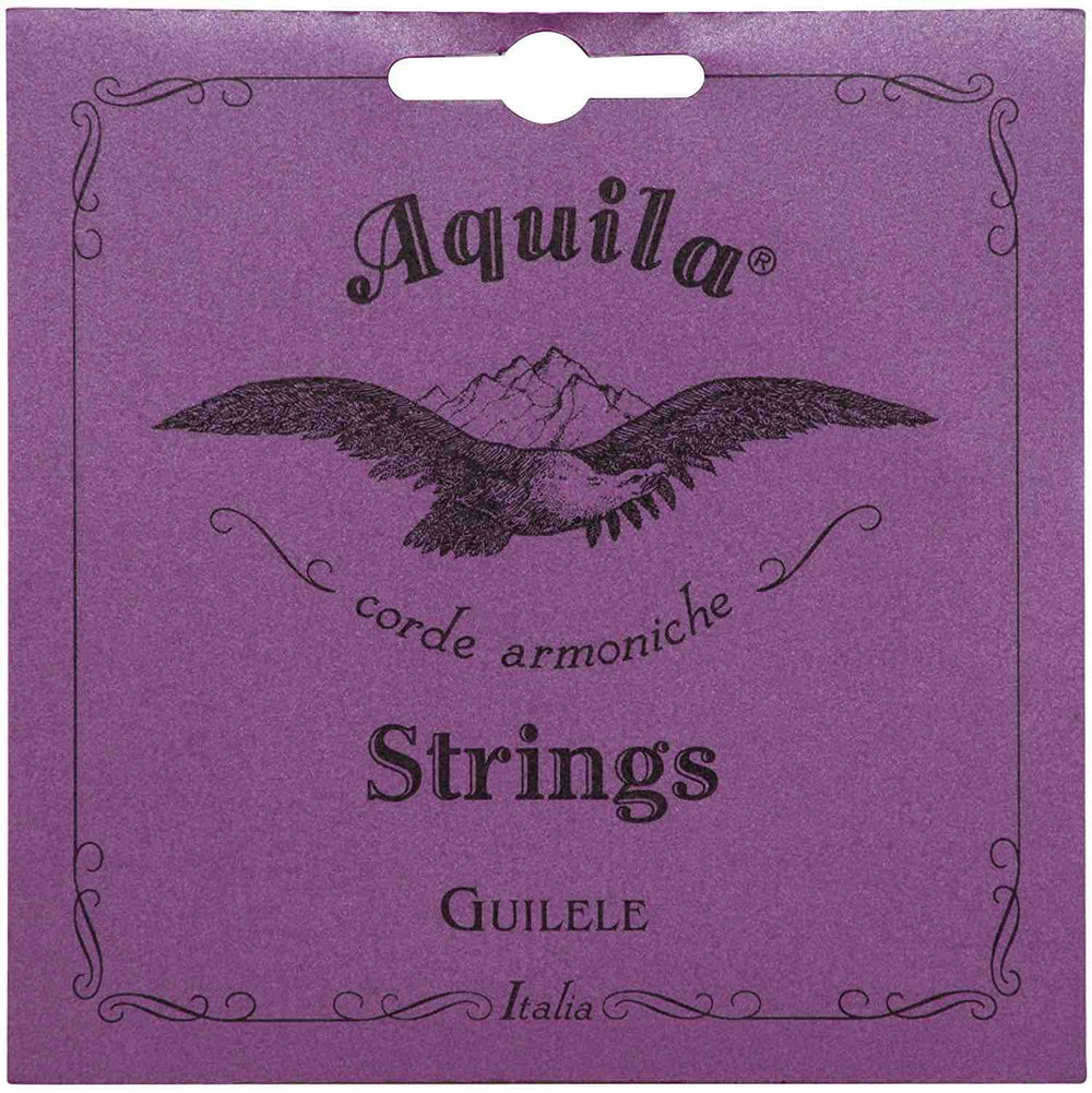 Aquila Nylgut Guilele Strings 96C Full Set of 6 Strings (A to A Tuning)