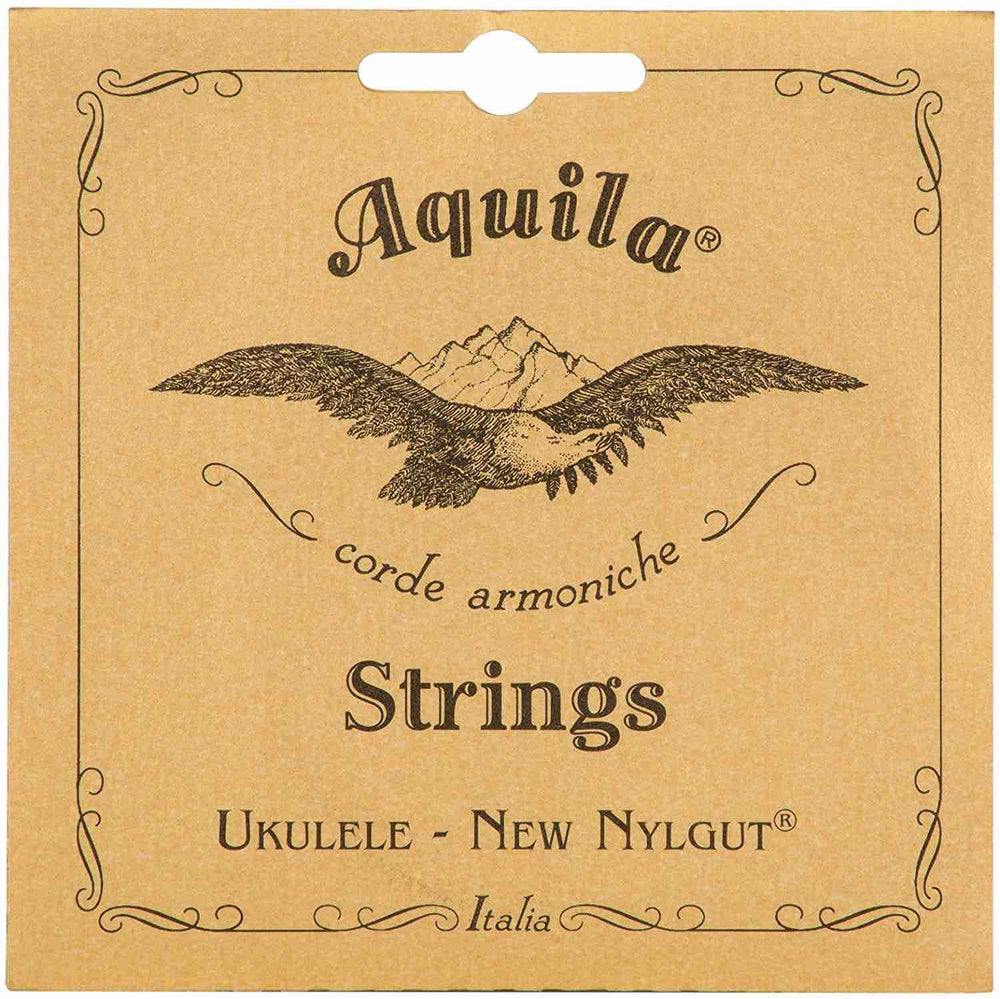 Aquila New Nylgut Ukulele Strings SOPRANO HIGH G (GCEA Tuning)