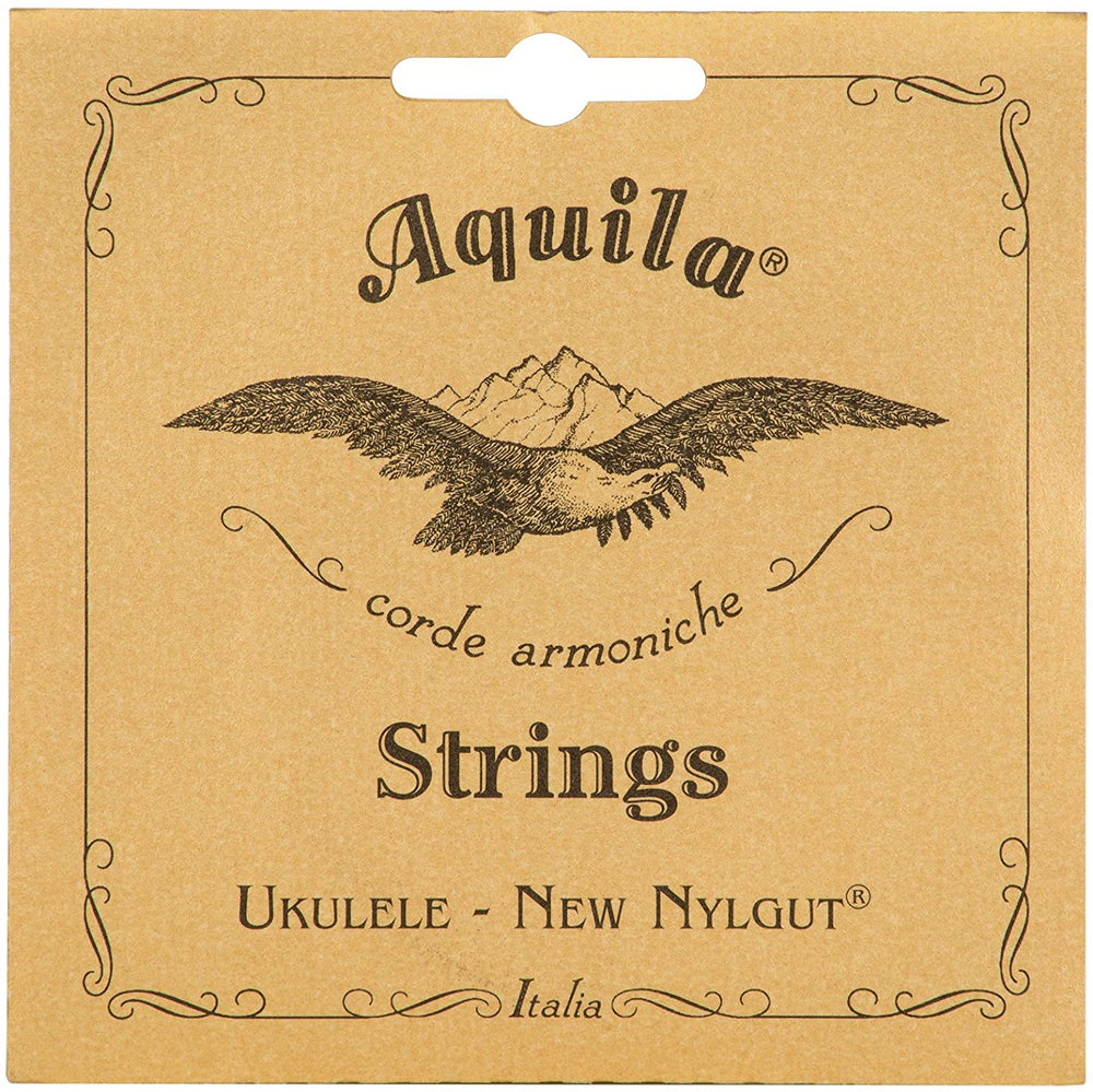 Aquila New Nylgut Ukulele Strings CONCERT HIGH G (GCEA Tuning) 7U