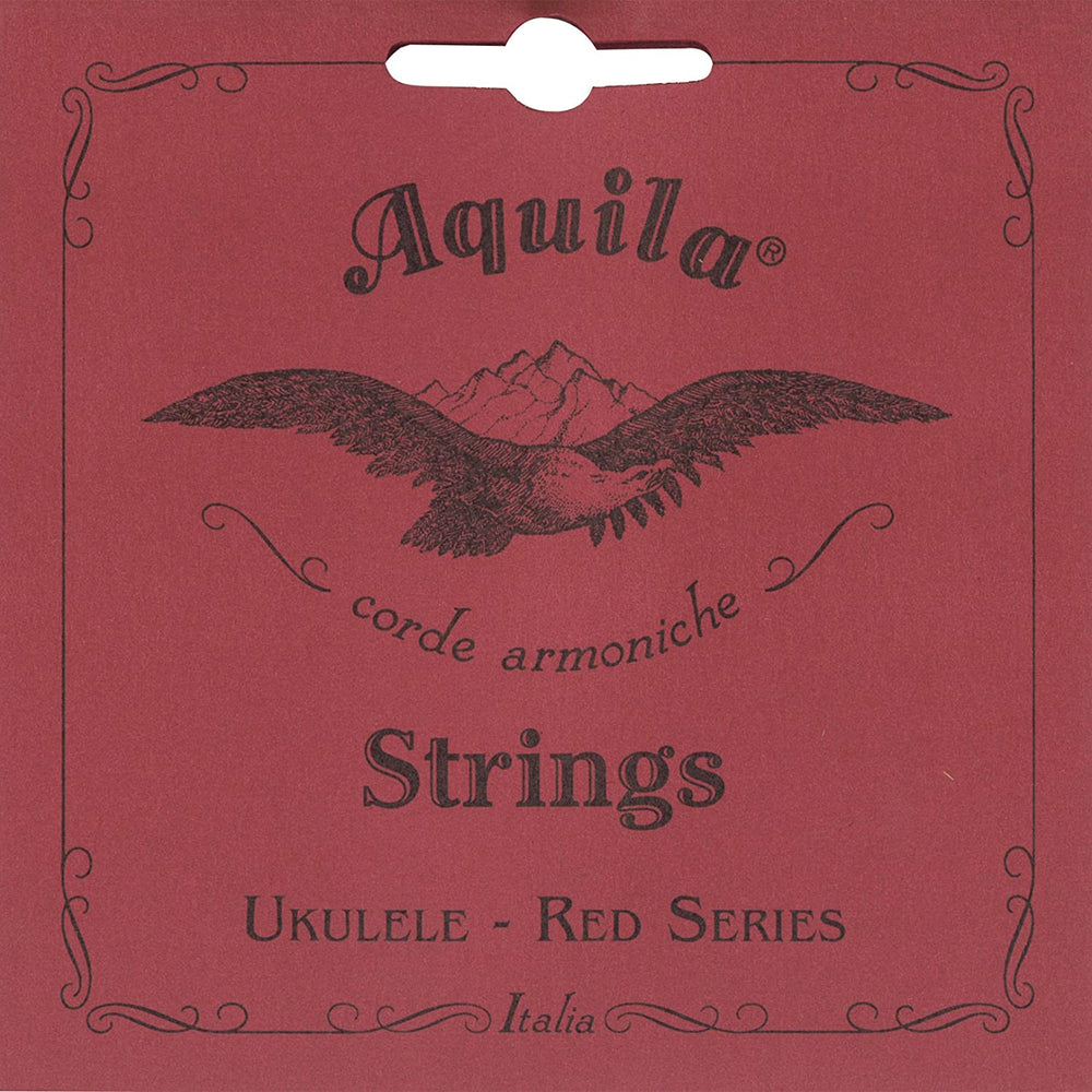 Aquila 70U RED SERIES, Ukulele Soprano Low-G Tuning (UNWOUND) SINGLE STRING