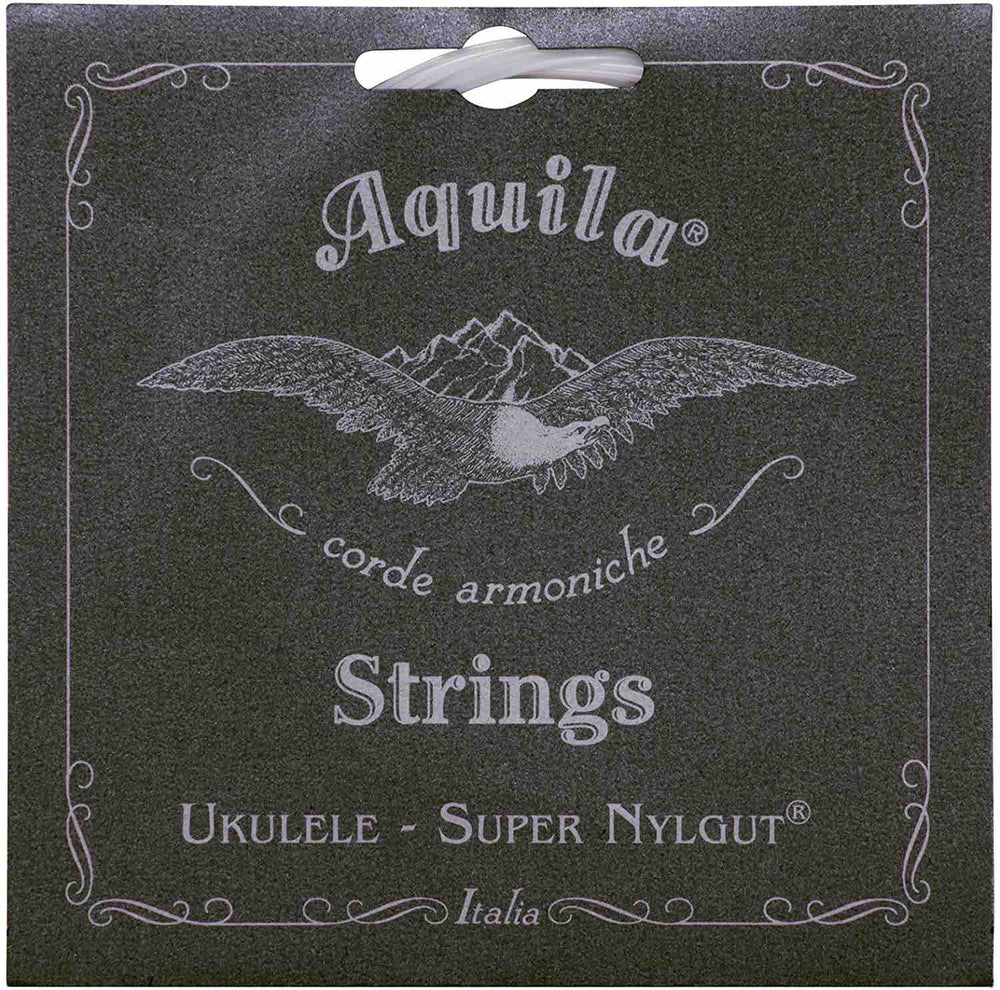Aquila Super Nylgut Ukulele Strings CONCERT LOW G (GCEA Tuning) 104U