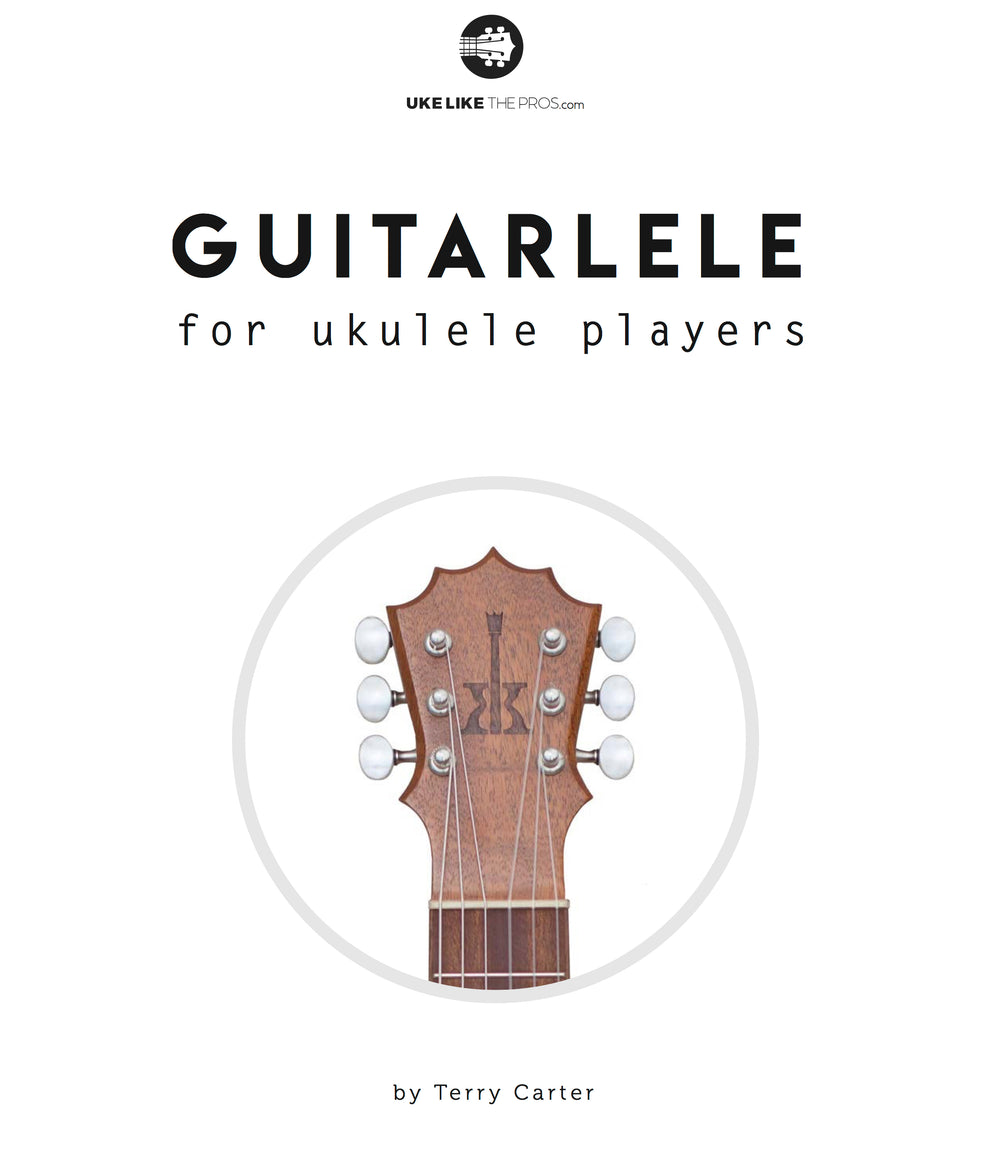 Guitarlele Book For Ukulele and Guitar Players
