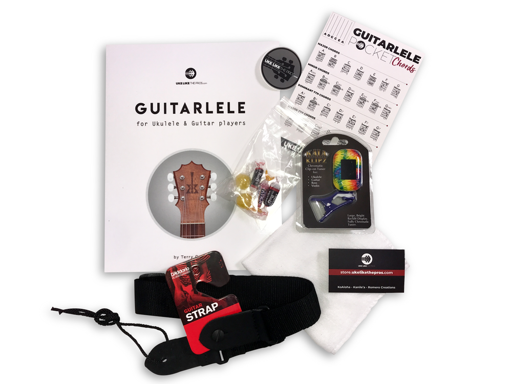 Guitarlele Pro Accessory Pack Special ONLY $25