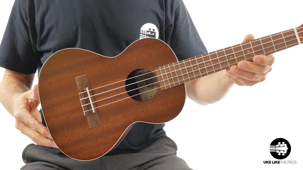 "Kala KA-TE Satin Mahogany Tenor Ukulele with EQ ""Ripple"""