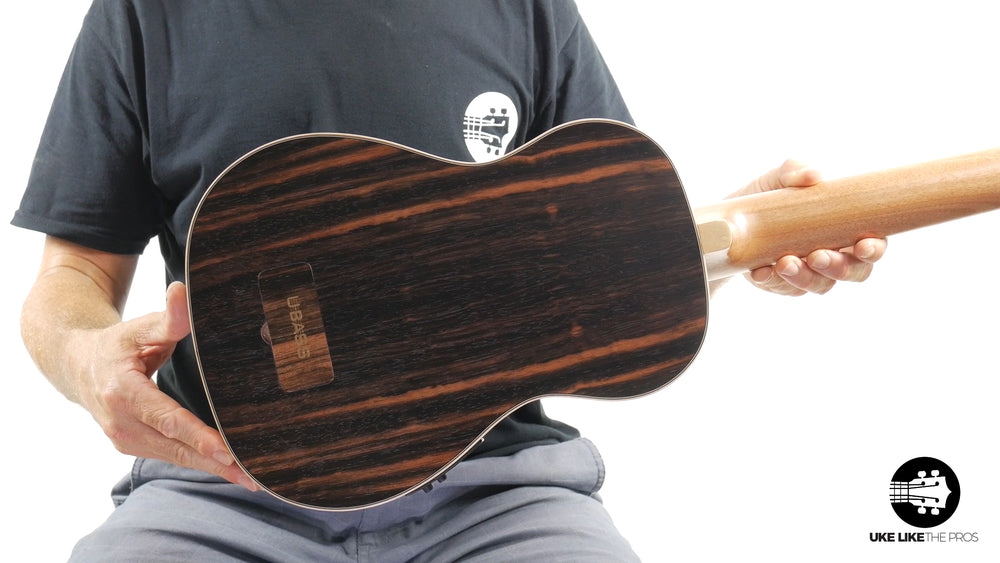 "Kala UBASS-EBY-FS Striped Ebony Ubass ""Lava Flow"""