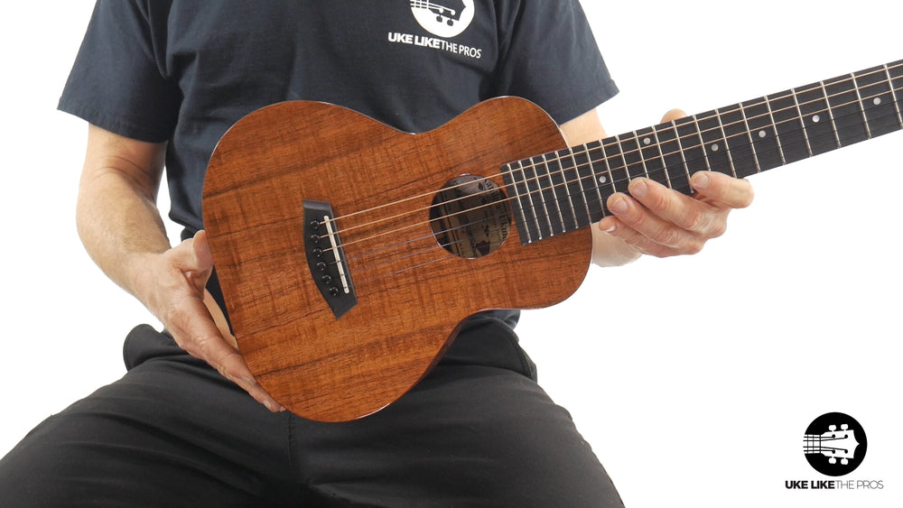 "Kanile'a GL6-Tru-R Deluxe G Solid Koa 6 String Guitarlele ""North Star"""