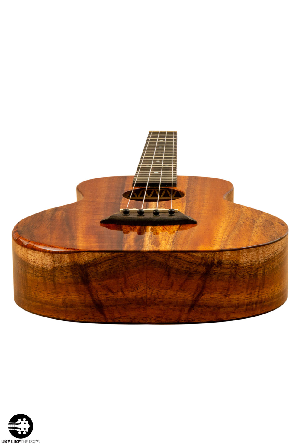 "Kanile'a KSR ST Deluxe Super Tenor Ukulele Solid Koa ""Cloud Forest"""
