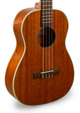 "Kala KA-BG Mahogany Baritone Ukulele w/ Gloss Finish ""Big Poppy"""