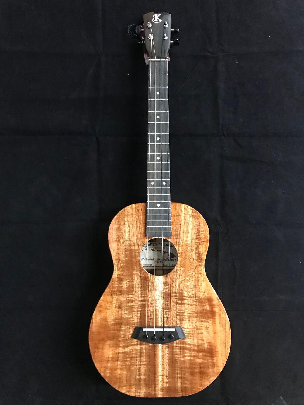 "Kanile'a K-1 B Baritone Deluxe Ukulele Solid Koa ""Maya"" Made In Hawaii"