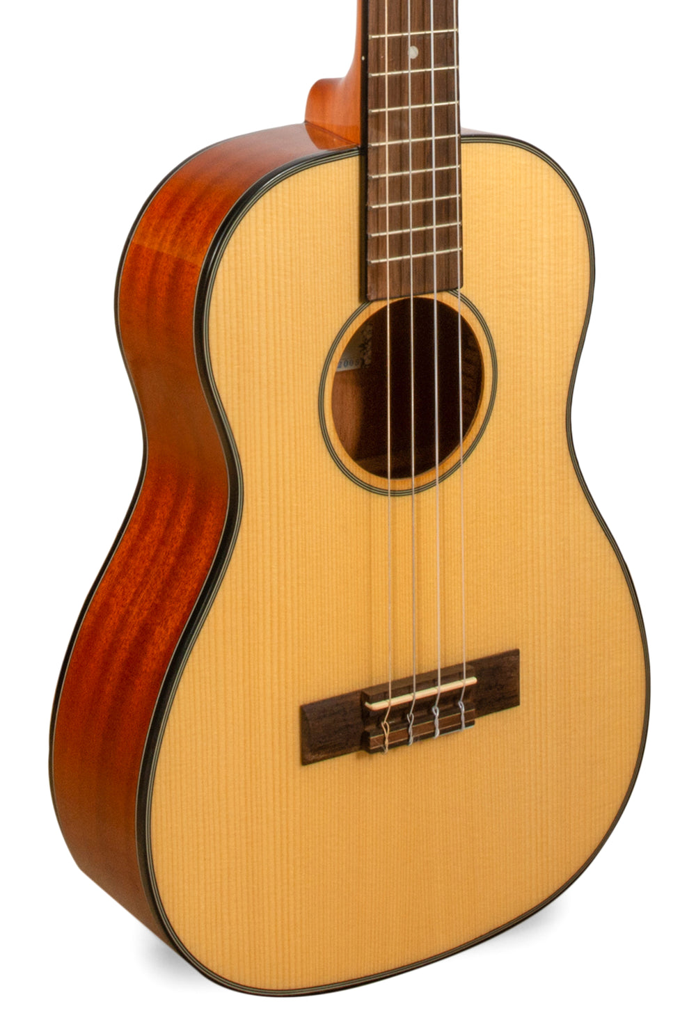 "Kala Baritone Ukulele Pack Solid Spruce Top and Mahogany KA-SBG ""Spiderman"""