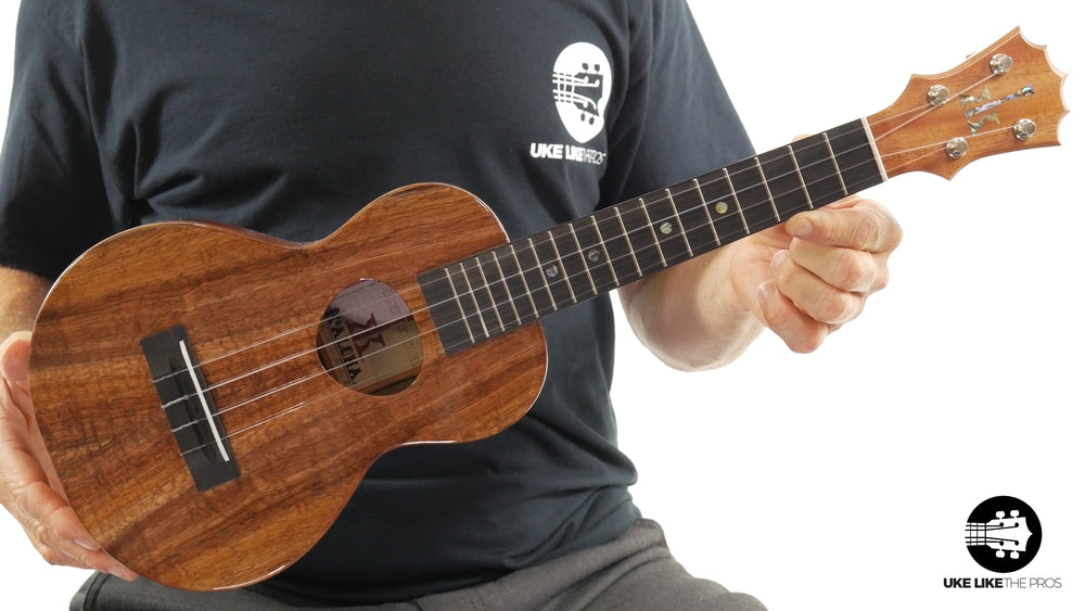 "KoAloha Concert Ukulele Koa (KCM-00) ""Koa Magic"""