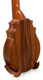"KoAloha Pineapple Sunday Concert Longneck Koa Ukulele ""Maui"" Made by Pops - Made in Hawaii"