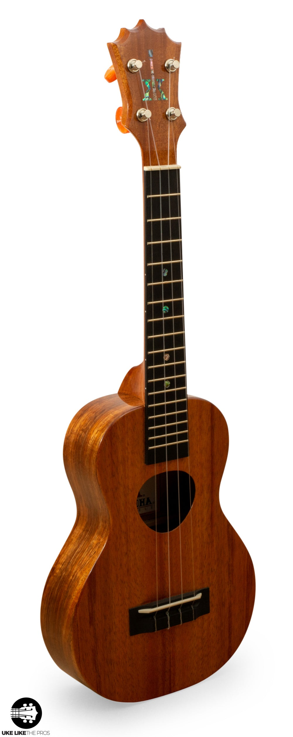 "KoAloha KCM-00 Concert Ukulele Koa ""Ahuahu"" Made in Hawaii"