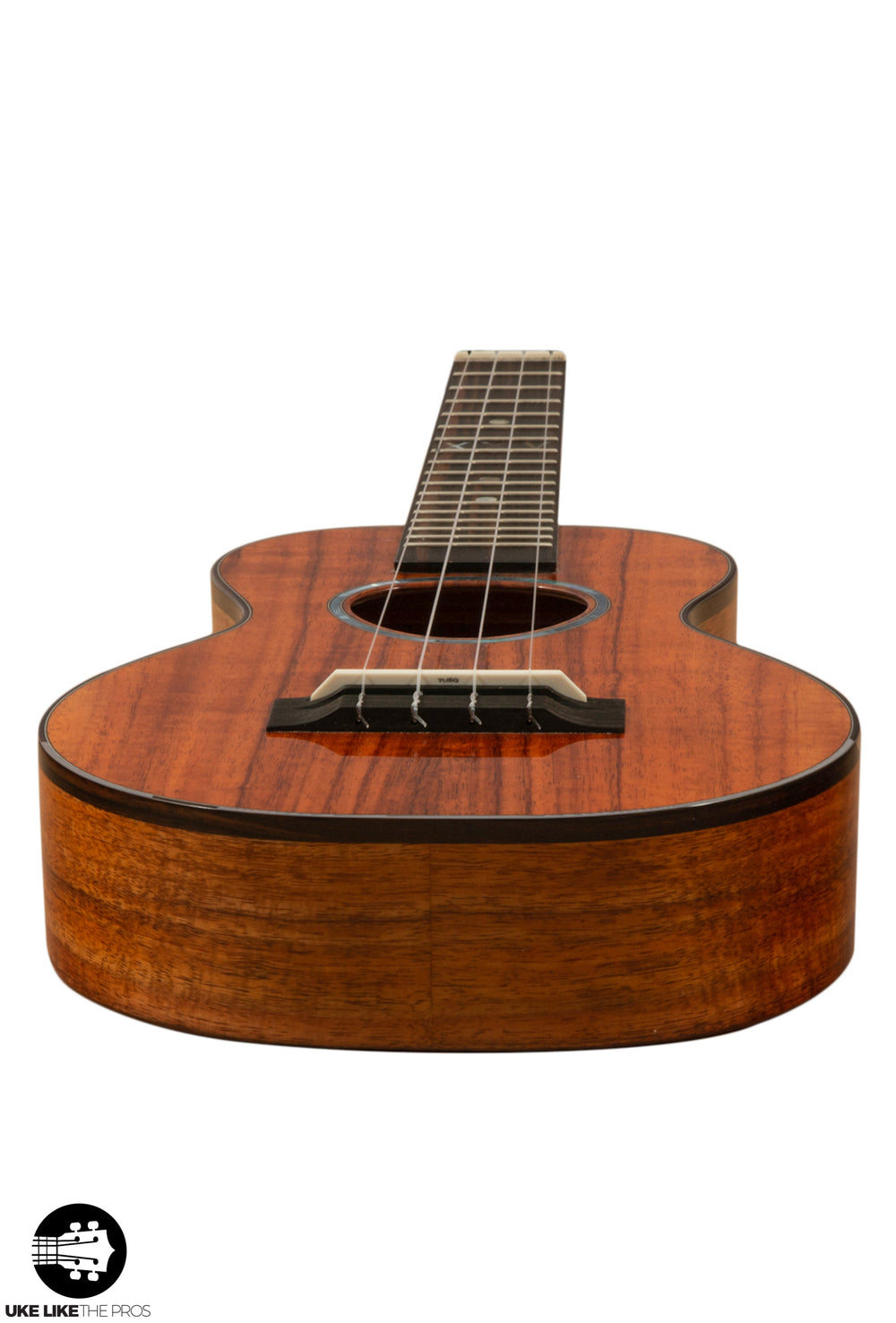 "KoAloha KCM-25 Red Label Silver Anniversary Concert Ukulele #10 Curly Koa ""Firebird"" (Only 10 Made)"