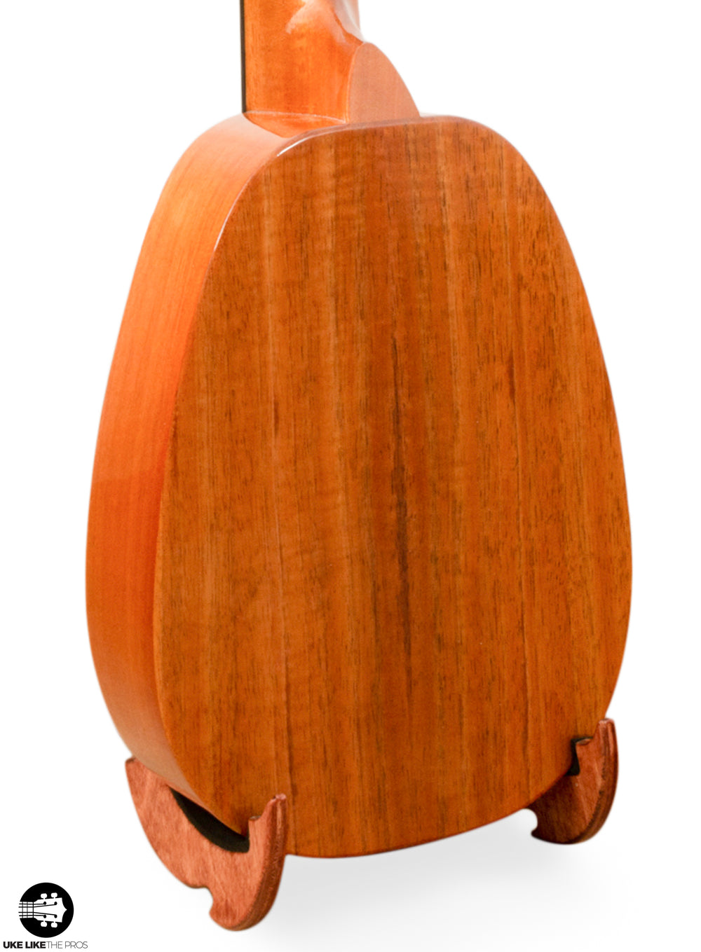 "KoAloha KSM-03 Soprano Longneck Pineapple Ukulele Pack Solid Koa ""Orion"" LIMITED EDITION"