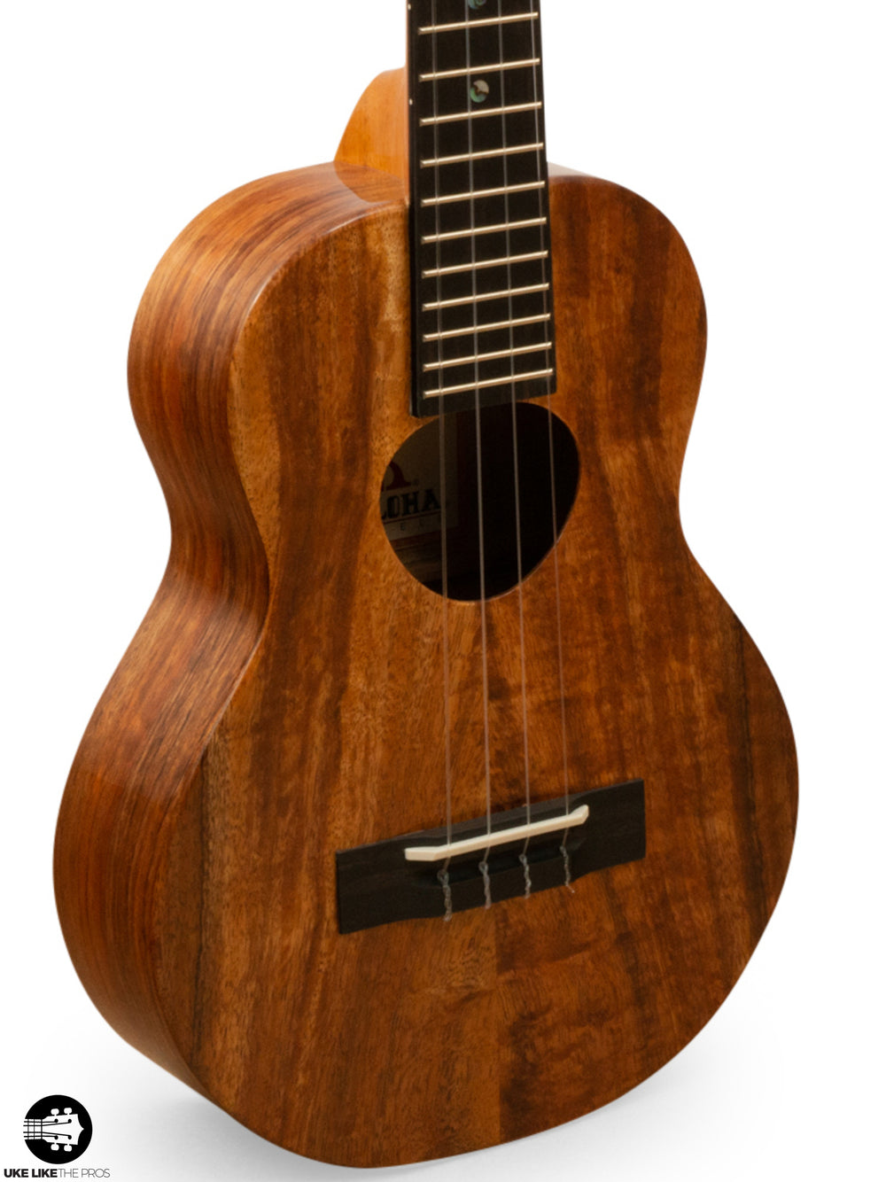 "KoAloha KTM-00 Tenor Ukulele Koa ""Nani"" Made in Hawaii"