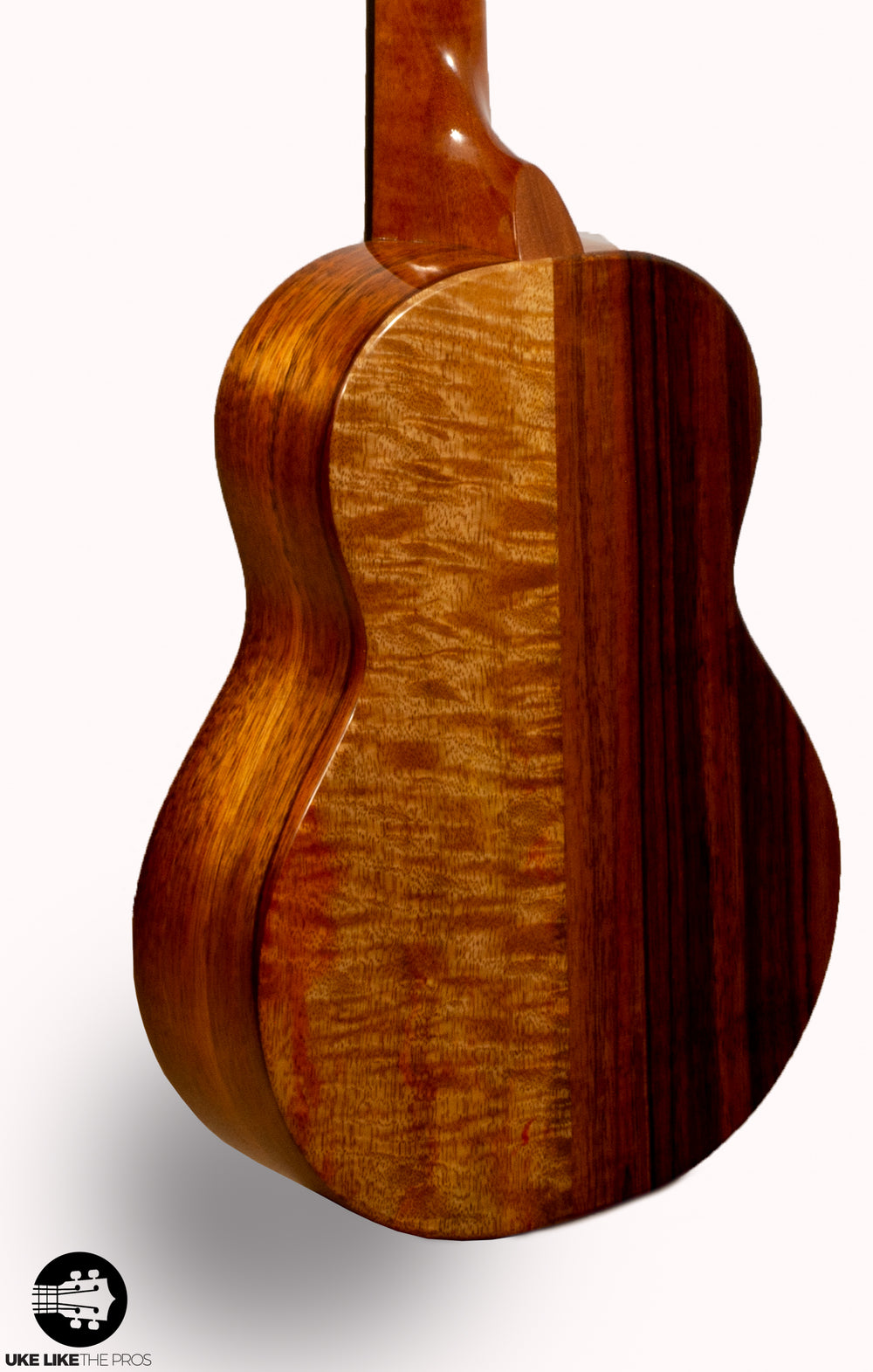 "KoAloha KTNP-00 Naupaka Tenor Ukulele Koa and Mango ""Maka"" Made in Hawaii"