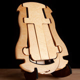 "K-Stand ""Maui Hook"" Premium Soprano and Concert Ukulele Stand Uke Like The Pros Model Limited Edition"