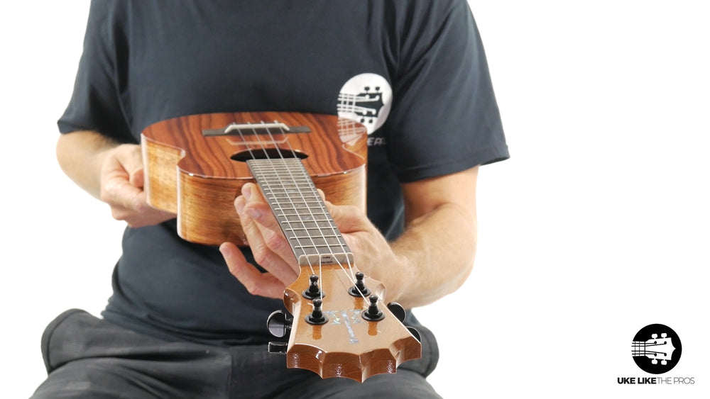 "KoAloha Tenor Ukulele Koa (KTM-00) ""Red Rocks"""