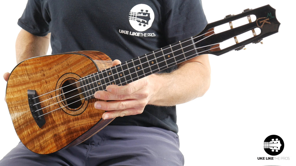 "Kanile'a 2019 Platinum Edition Solid Koa Pineapple Tenor ""The Experience"" #69 of 69 Dreams"""