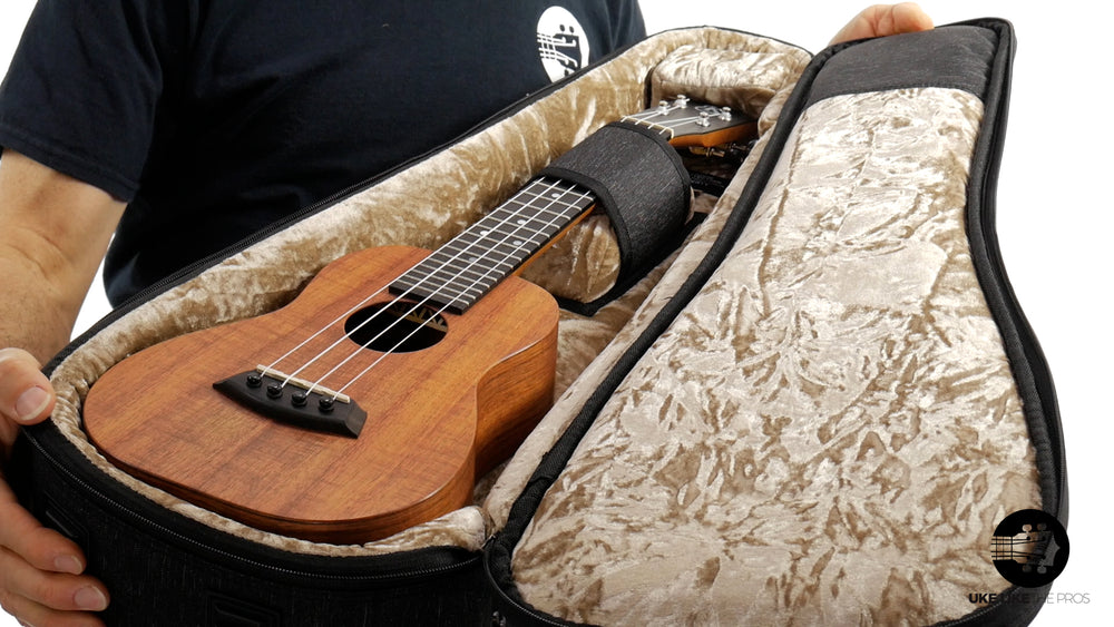"Kanile'a K-1 C Natural Concert Ukulele Hawaiian Koa ""Black Forest"" Satin Finish"