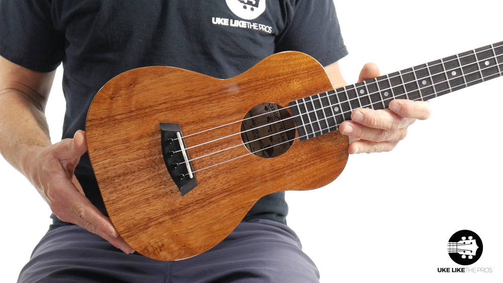 "Kanile'a K-1 Tenor Ukulele Hawaiian Koa ""Heat Wave"""